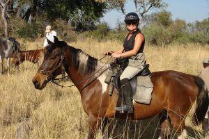 Riding the Thoroghbred Chucutu